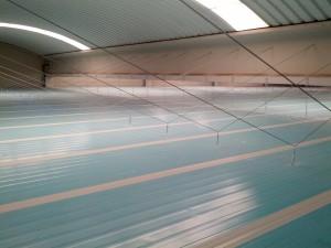 Soluciones en sujecion de paneles de techo en camara frigorifica