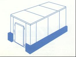 Protecciones de panel frigorifico