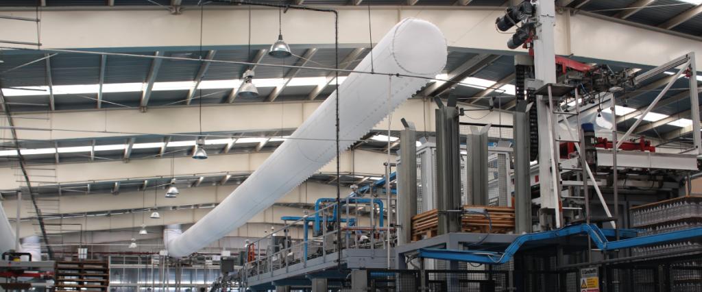 conductos textiles en grandes instalaciones