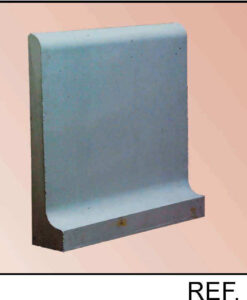 Bordillo de hormigón empotrado a solera ref 250