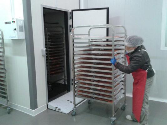 calefactores puertas frigorificas