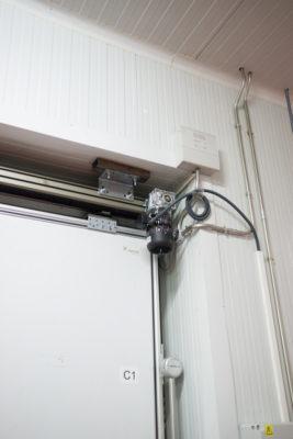 Automatismo puerta frigorifica corredera