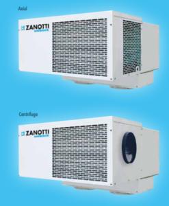 Equipos frigoríficos compactos monoblock
