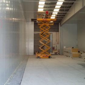 Instalacion de techos industriales