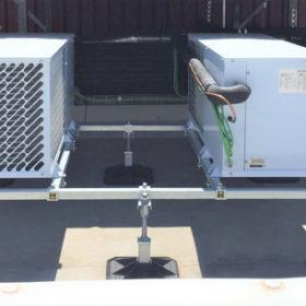 Instalacion frigorifica en cubierta