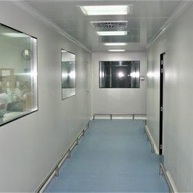Instalacion sala limpia