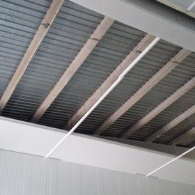 Instalacion techo camara fria industrial