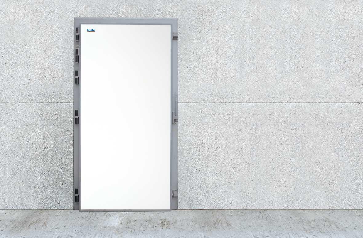 Puerta pivotantes para cámaras frigoríficas