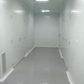 Sala blanca cosmetica