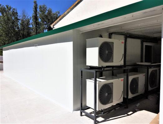 Unidades condensadoras carrrozadas
