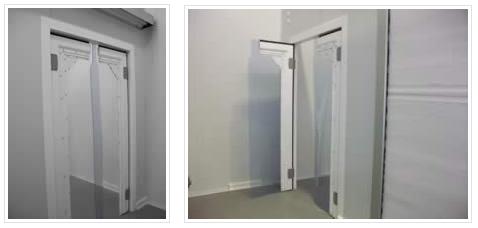 Puertas abatibles flexibles en pvc c maras frigor ficas - Puertas correderas o abatibles ...