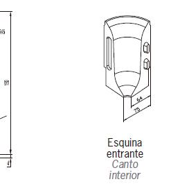 Zócalos de Hormigón Polímero altura 180 mm