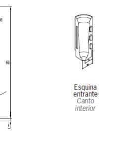 Zócalos de Hormigón Polímero altura 320 mm