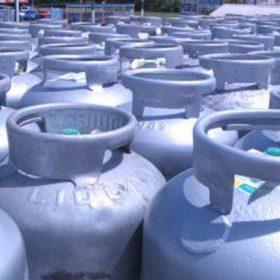 bombonas de gas industrial