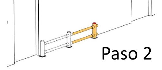 Bolardos y protecciones en Polietileno PASO 2
