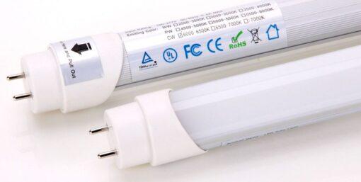 tubos led Iluminación Cámaras Frigoríficas
