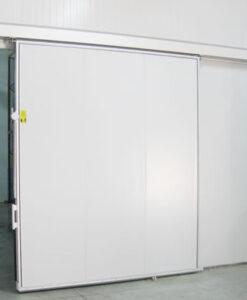 Puertas frigoríficas correderas