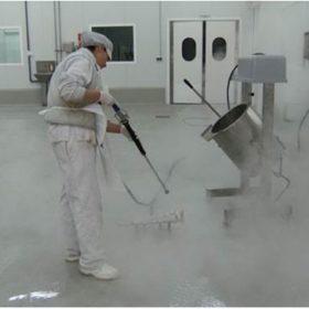 sanitización de las cámaras frigoríficas