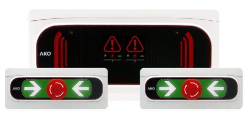 Alarma cámara negativa ako-55323b