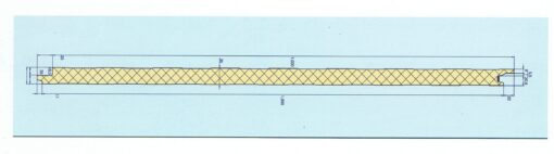 medidas panel fachada