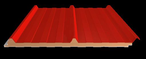 panel cubierta 3 grecas parte superior