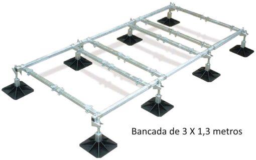 BANCADA DE 3 X 1'3 METROS