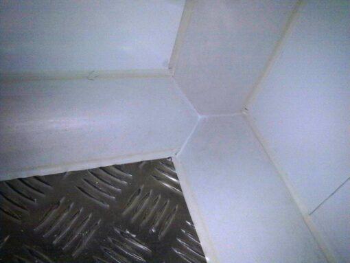 aplicacion suelo en cámara frigorifica