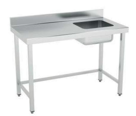 mesa sin estante cuba derecha