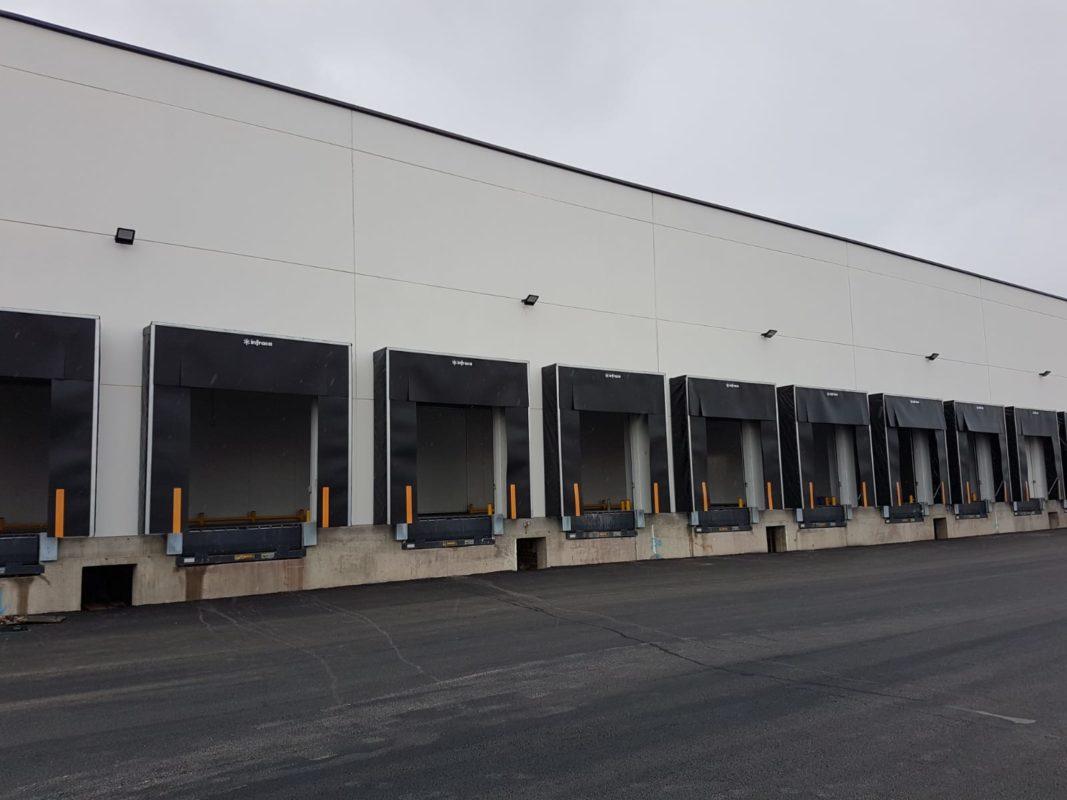 logística refrigerada construcción