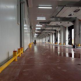 centro logístico refrigerado construcción