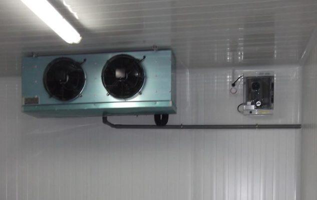 instalacion de Ozono en cámara frigorifica