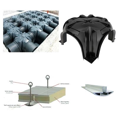 materiales contruccion camaras