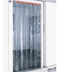 Cortina de lamas para cámaras frigoríficas