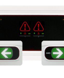 Alarmas de hombre encerrado para cámaras frigoríficas
