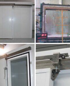 Puertas frigoríficas correderas cortafuegos