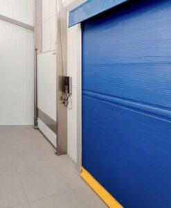 Puerta Rápida Enrollable de Congelación